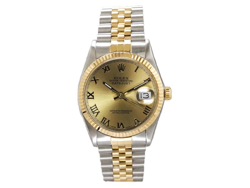Rolex Datejust 16013 36 mm Mens Watch