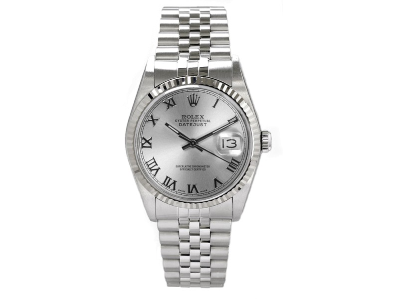 Rolex Datejust 16014 36 mm Mens Watch
