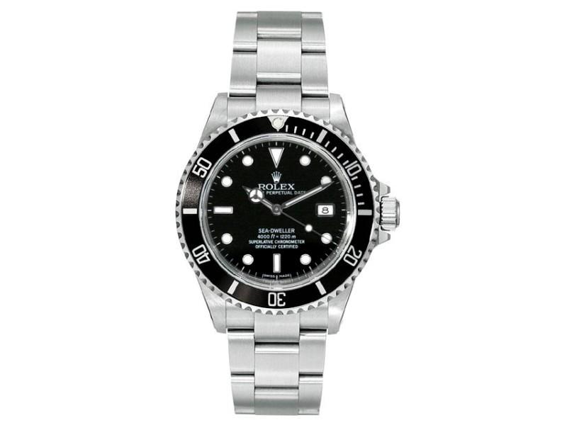 Rolex Sea-Dweller Pre-Owned 16600 40mm Men's Watch