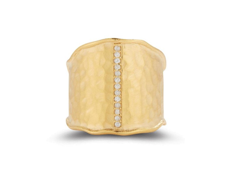 I. Reiss R2556Y 14k Yellow Gold diamonds0.08 H-SI Diamonds Rings
