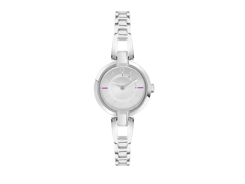 Furla Women's Linda Silver Dial Stainless Steel Watch