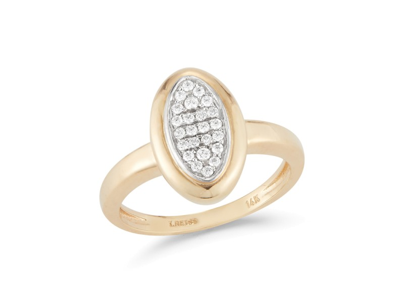 I.Reiss Polish-finished Marquee Ring