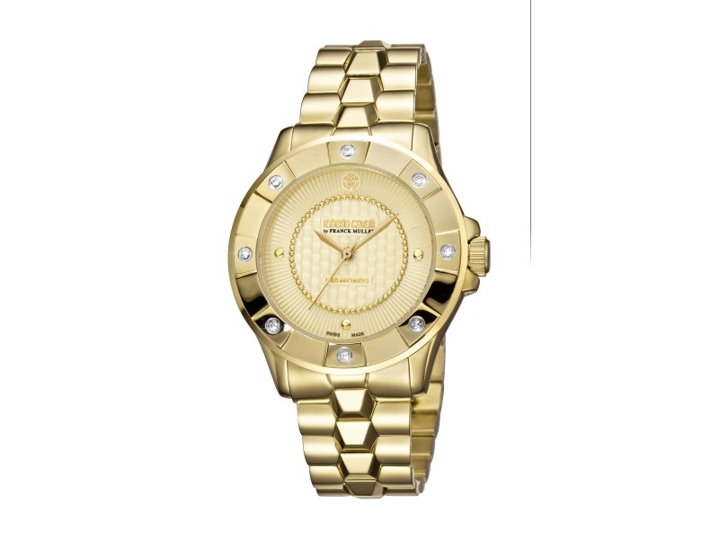 Roberto Cavalli Champagne Gold Stainless Steel  RV2L008M0106 Watch