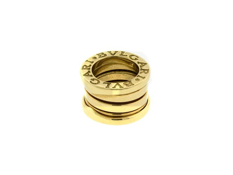 Bvlgari 18k Yellow Gold B.zero Pendant