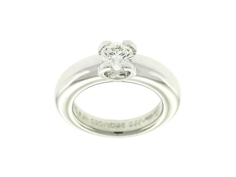 Cartier 18k White Gold Diamond Engagement Ring