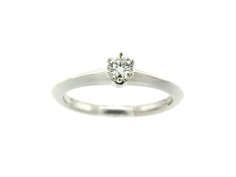 Tiffany & Co. Platinum Diamond Engagement Ring