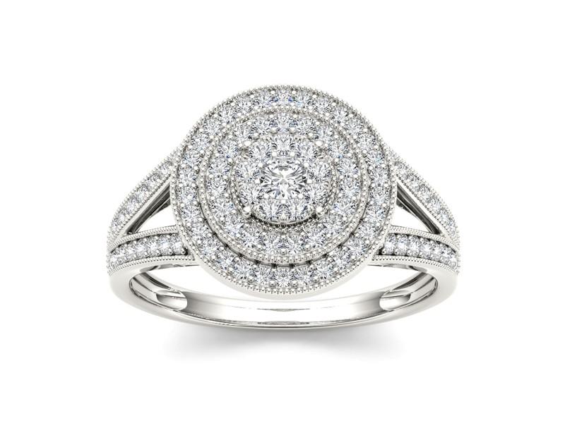 1/2ct TDW Diamond Fashion Ring In 10K