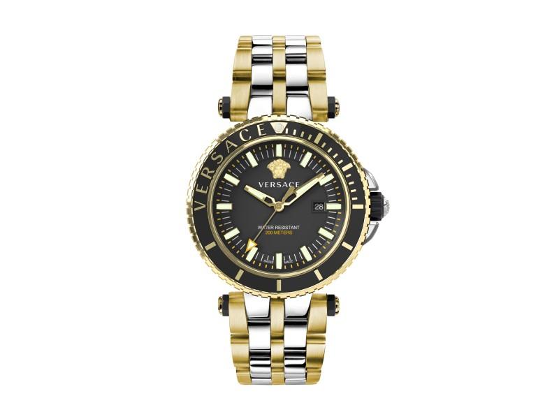 Versace V-Race Diver Black 46MM VEAK00518