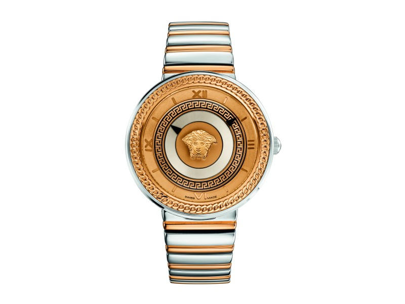 Versace V-Metal Icon Two Tone 40MM VELC00818
