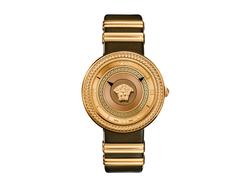 Versace V-Metal Icon Gold 40MM VELC01318