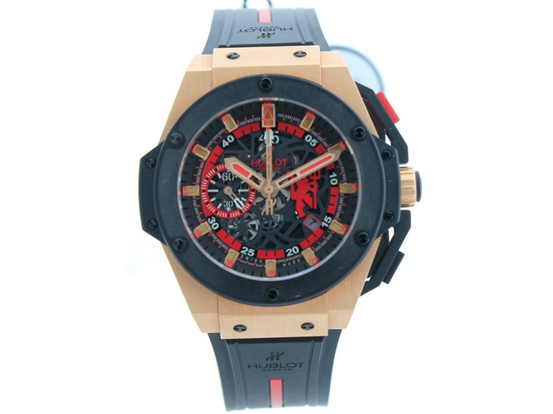 Hublot Big Bang King Power Red Devil Manchester United