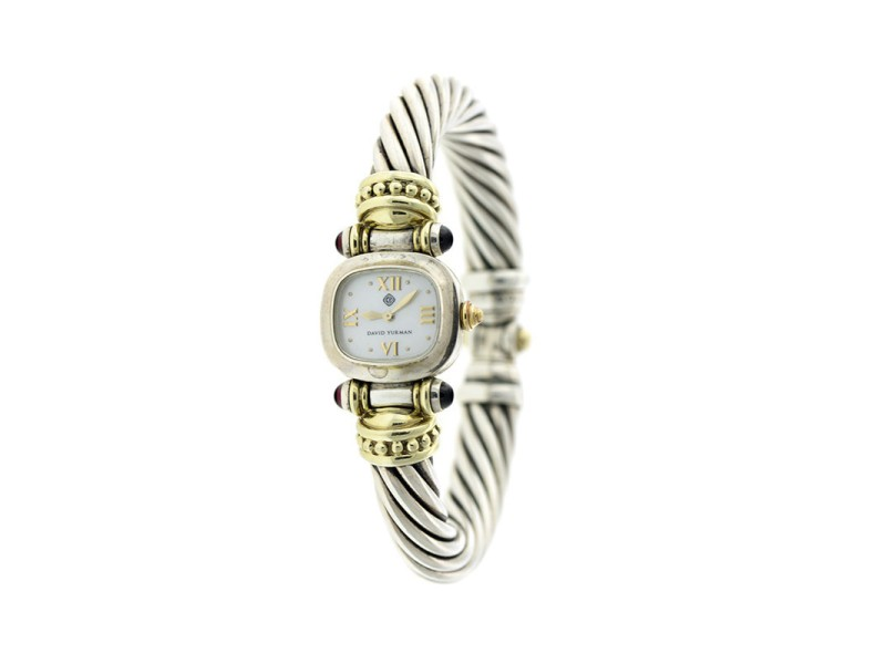 David Yurman Two-tone Cable Bracelet Watch