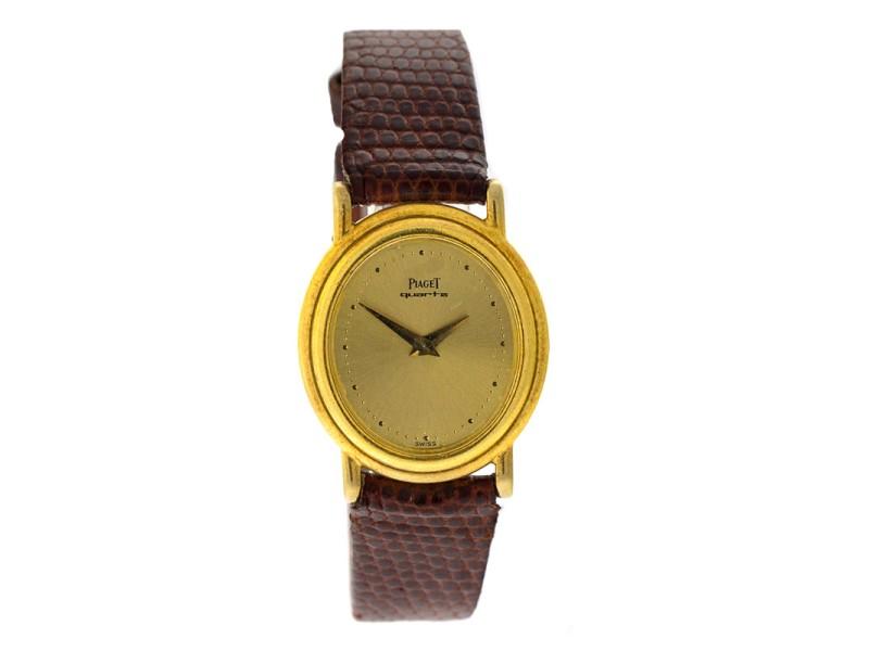 Piaget 18K Yellow Gold Vinatge Womens Watch