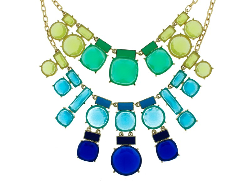 Kate Spade Cause A Stir Statement Bib Necklace