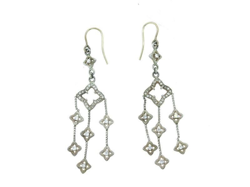 David Yurman Sterling Silver Chandelier Earrings