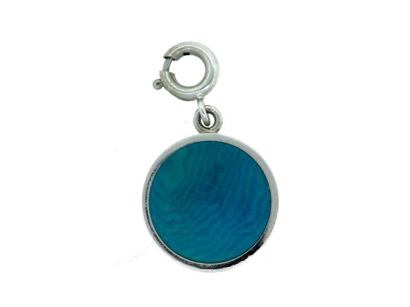 Hermes Blue Bijouterie Fantaisie Caleche Charm