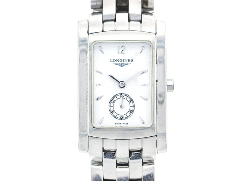 Longines Stainless Steel Rectangular Mens Watch