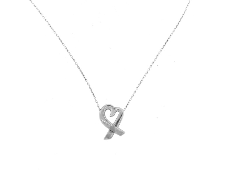 Tiffany & Co. Paloma Picasso Heart Necklace