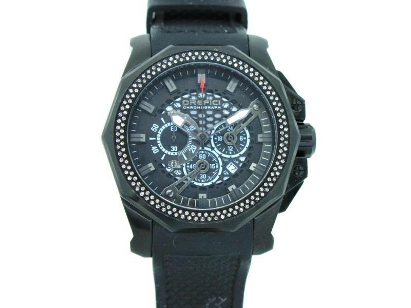 OREFICI ORM2C4803 Limited Edition Gladiatore 48mm Black Watch