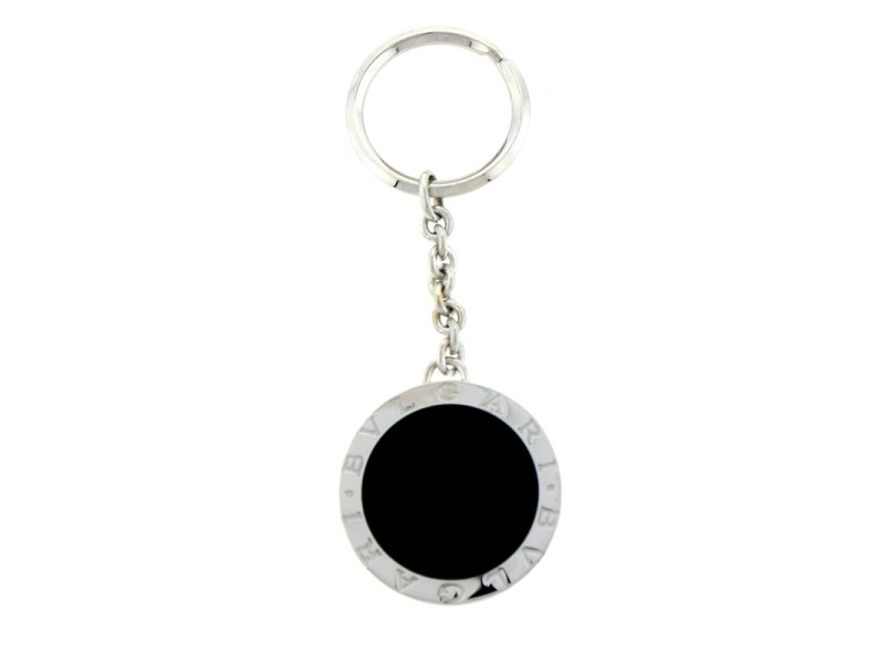 Bulgari Keychain Black PC854123