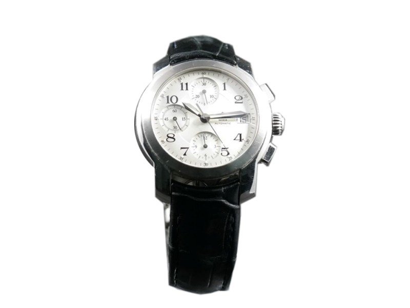 Baume & Mercies Capeland Stainless Steel Chronograph 38mm Watch