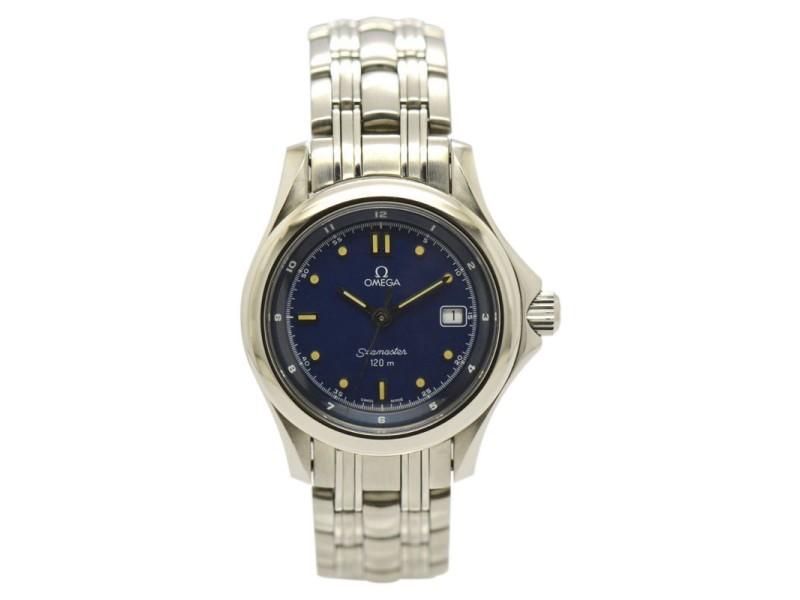 Omega Seamaster 120m Cal.1424 Date Quartz Womens Watch