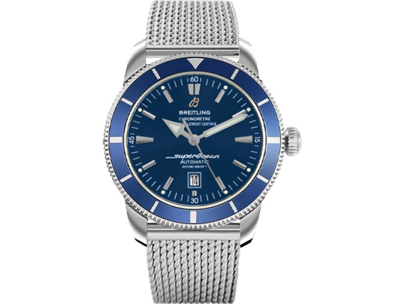 Breitling Superocean Heritage A1732016-C734SS Stainless Steel 46mm Mens Watch
