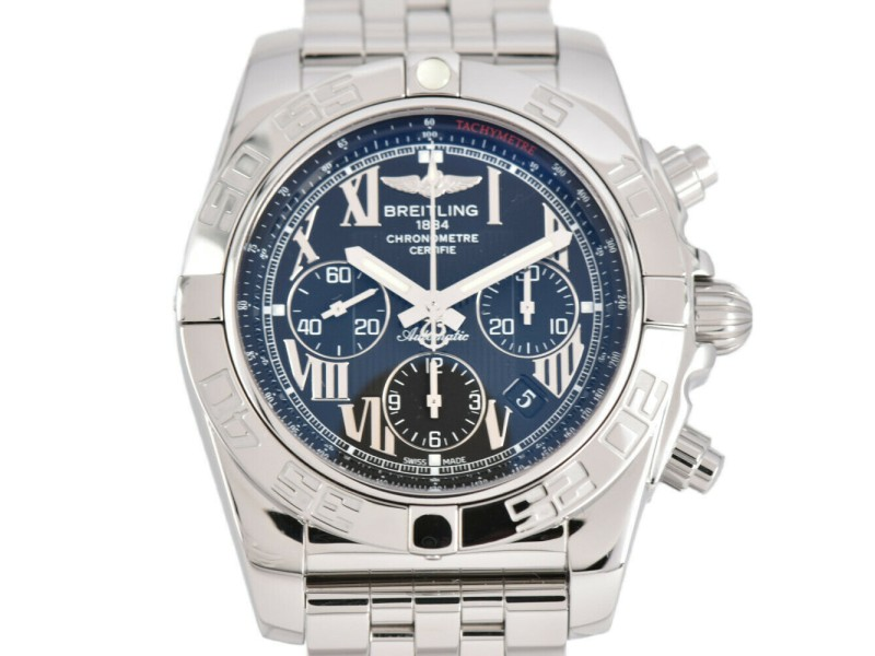 BREITLING Stainless Steel / Stainless Steel Chrono mat Watch
