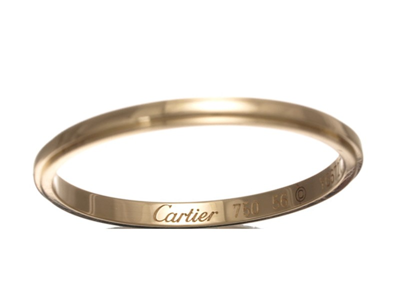 Cartier 18K Rose Gold D'amour Ring Size 7.5