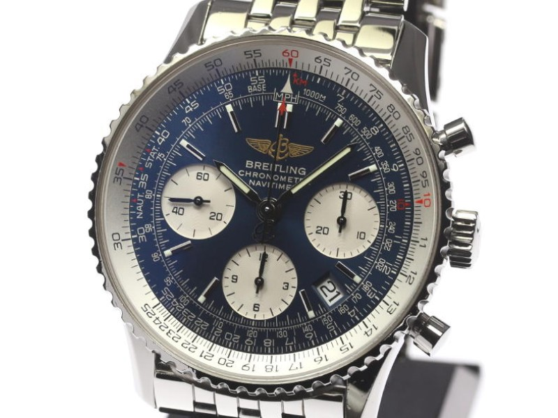 Breitling Navitimer A23322 Stainless Steel Automatic 42mm Mens Watch