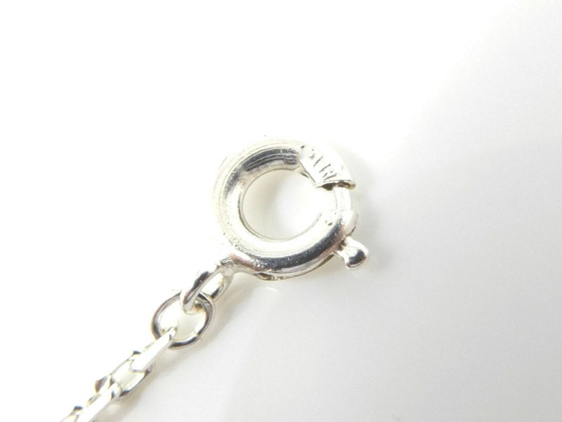 Take Up Sterling Silver Moonstone night and day Necklace Pendant CHAT-613