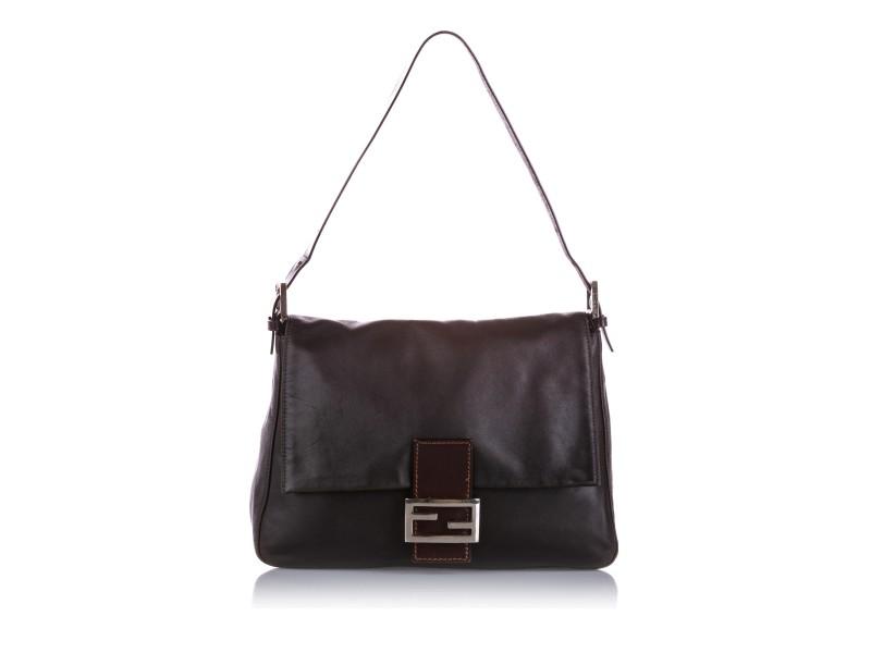 Mamma Forever Leather Shoulder Bag