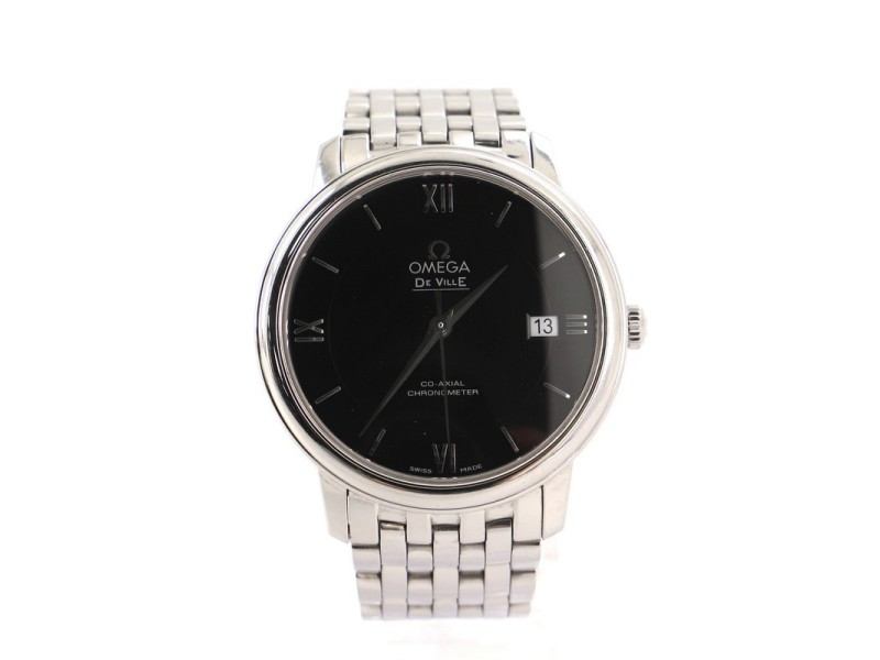 Omega De Ville Prestige Co-Axial Chronometer Automatic Watch Stainless Steel 37