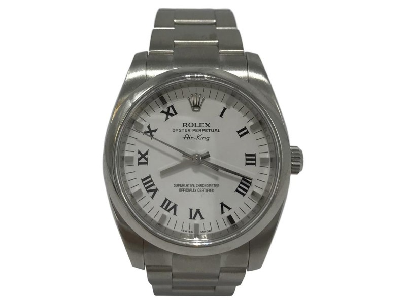 Rolex Air-King 114200WRO 34mm Mens Watch