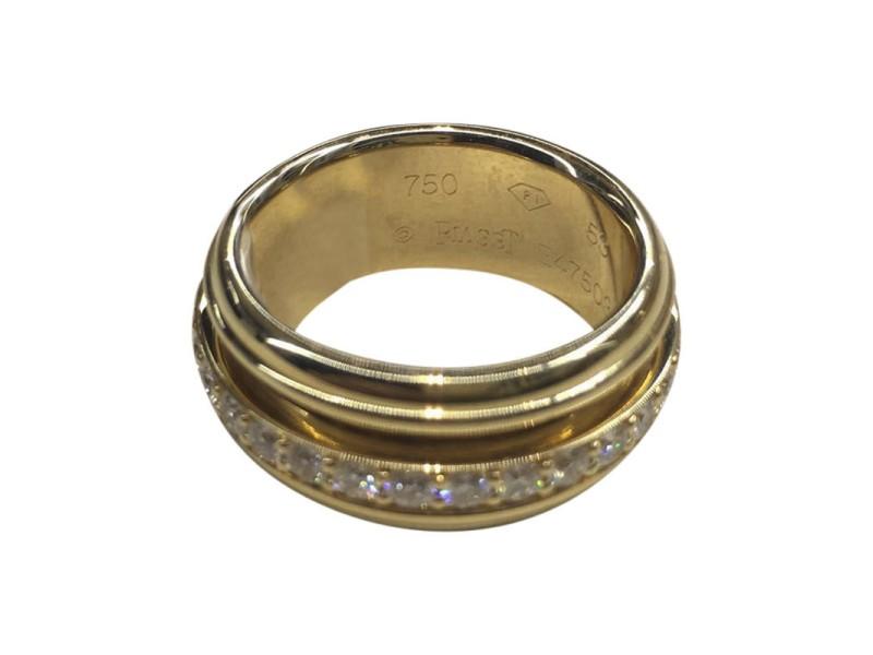 Piaget Yellow Gold Diamond Ring