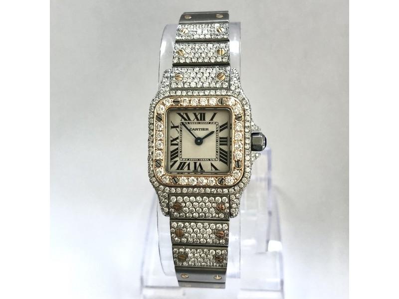 CARTIER SANTOS GALBEE 24mm Quartz Watch