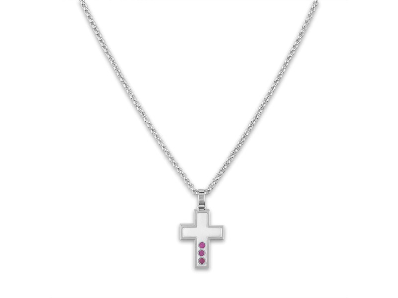Chopard 18K White Gold Sapphire Necklace