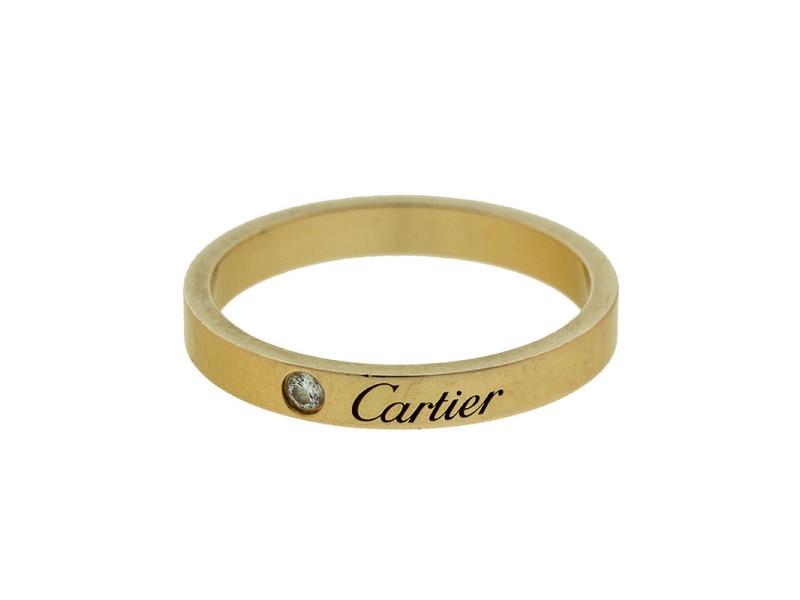 Cartier 18k Rose Gold Diamond Wedding Band Ref B4086400