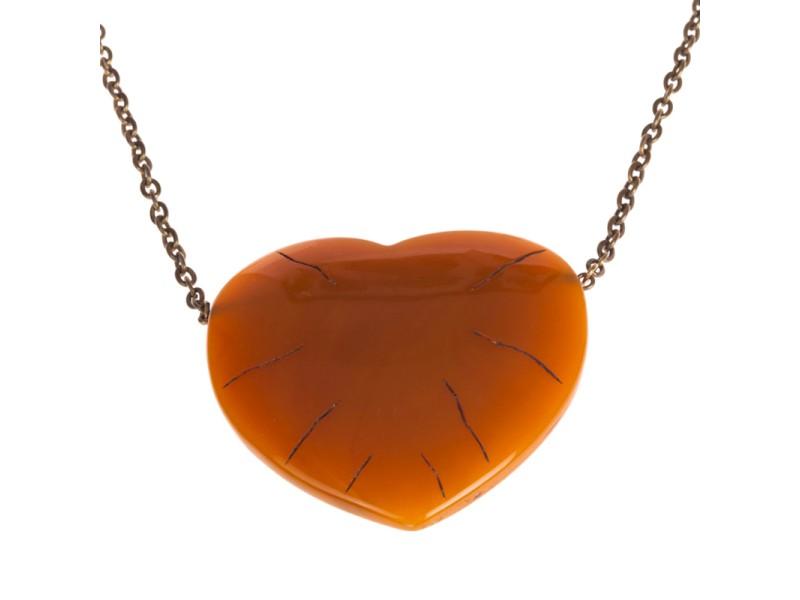 Diane von Furstenberg Heart Necklace