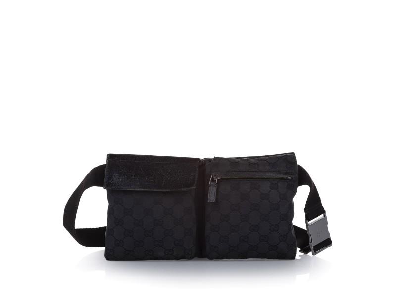 GG Canvas Belt Bag