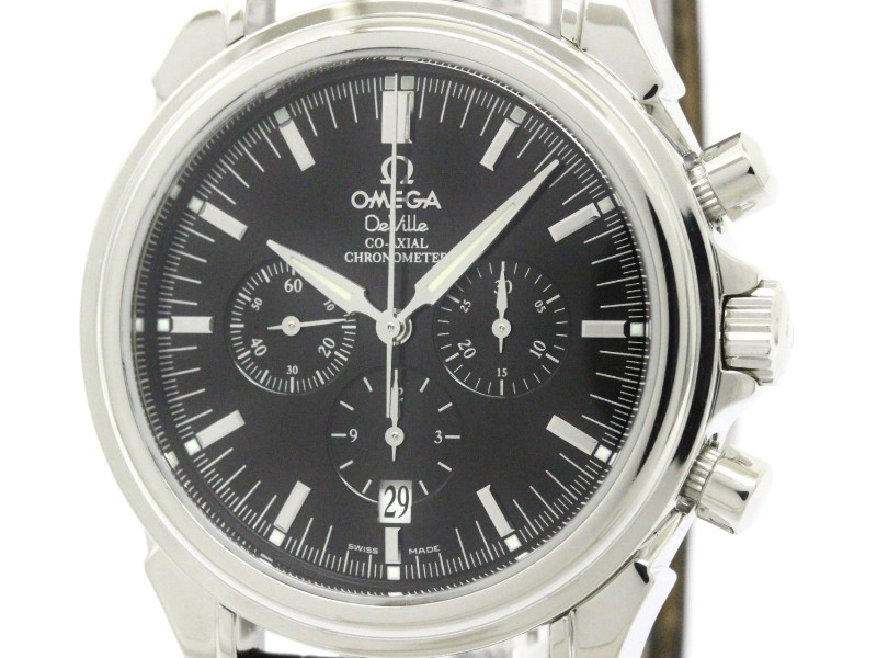 Omega De Ville Stainless Steel Automatic 41mm Mens Watch
