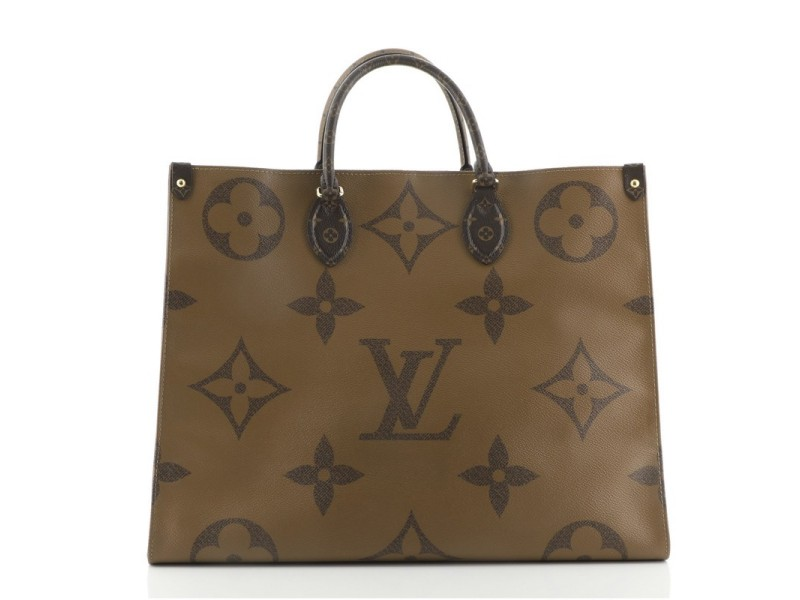Louis Vuitton OnTheGo Tote Limited Edition Reverse Monogram Giant GM