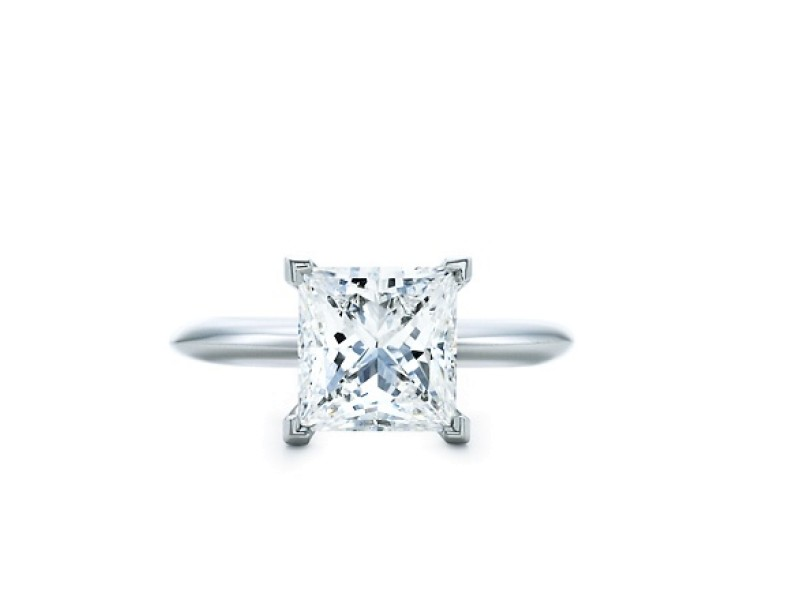 Tiffany & Co. Princess Cut Engagement Ring