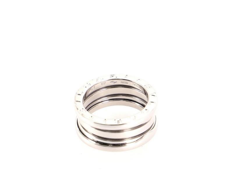 Bvlgari B.Zero1 Three Band Ring 18K White Gold 6 - 52