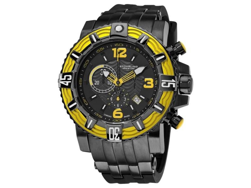 Stuhrling Prestige Marine Pro 319127-115 Stainless Steel 50mm Watch