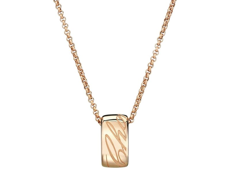 Chopard Chopardissimo 18K Rose Gold Necklace