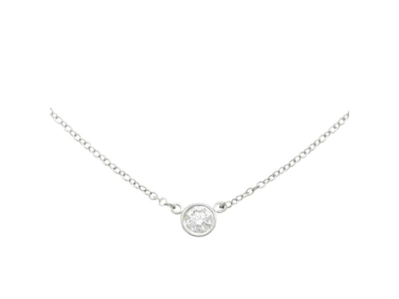 Tiffany & Co. By The Yard 950 Platinum Necklace