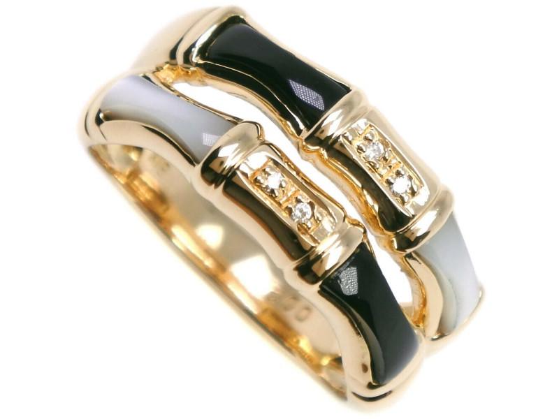18k yellow gold/diamond Ring