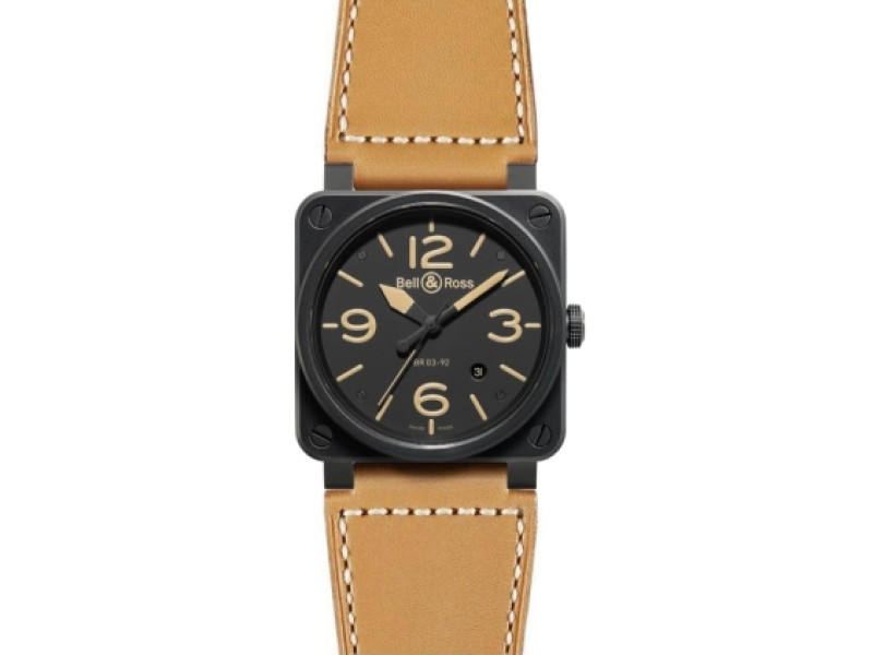 Bell & Ross Aviation BR 03 Automatic 42mm Men's Watch