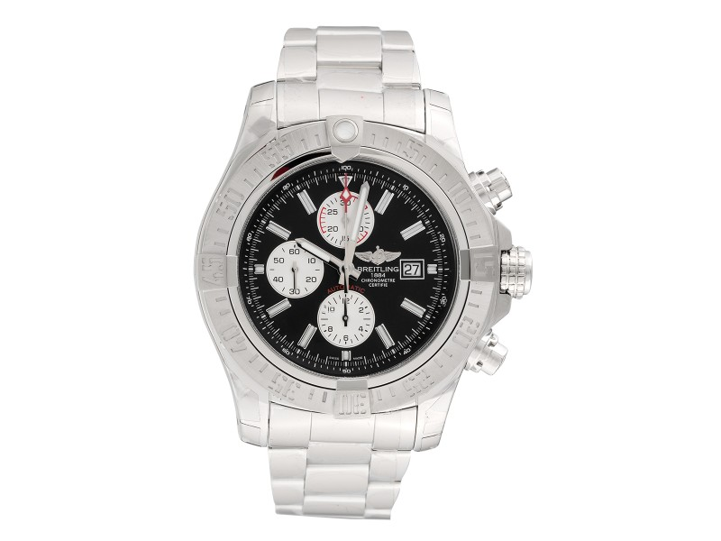 Breitling A1337111/BC29 Super Avenger II Chronograph Stainless Steel Mens Watch